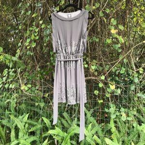 Vince Camuto Beaded Sequin Dress Sz 4